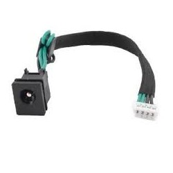 connecteur d'alimentation dc jack toshiba satellite a205 a215 l355d