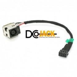 connecteur dc jack hp pavilion dv7-7180 series 682744-001