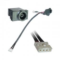connecteur d'alimentation dc jack samsung r520 r620 r518 r519
